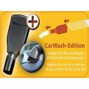Autopflege Set Carwash Edition Wessel Werk mit Car Wash Adapter für Tankstellen Sauger