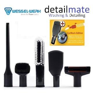 Autopflege Düsen Set Wessel Werk mit Car Wash Adapter für Tankstellen / SB Waschboxen Sauger von Wessel Werk & detailmate
